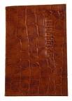 Обложка на паспорт коричневый камешки