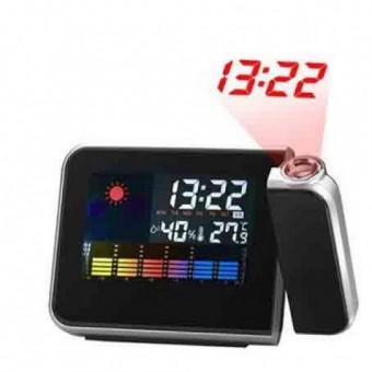 Часы-метеостанция проекционные 8190