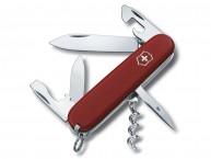 Швейцарский нож Victorinox Ecoline 91 мм 12 функций красный матовый