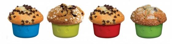 Набор из 4 силиконовых форм для кекса 1-Up Cupcake