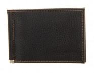Портмоне+карман для мелочи флоттер черный