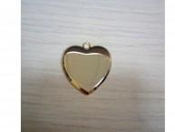 Брелок Сердце под гравировку