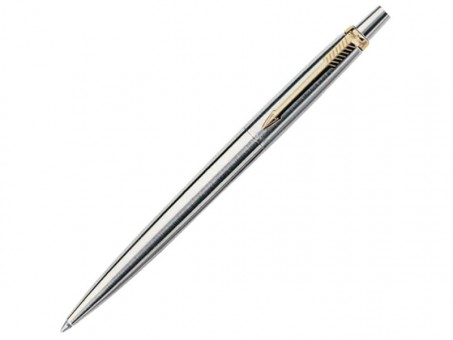 Ручка шариковая Parker Jotter  Stainless Steel GT, M
