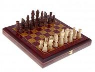 """Шахматы """"Темно красные"""" бордо"""