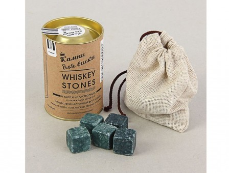 Камни для виски 12 шт. в тубусе