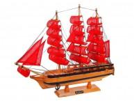 Корабль средний трехмачтовый