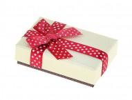"""Коробка подарочная """"Бант в горошек"""""""