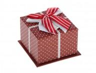 "Коробка подарочная ""Точки"""