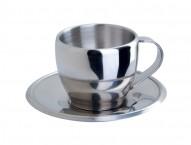 Чайная пара 200 мл. Чашка и блюдце