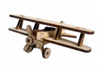 Конструктор деревянный подвижный Lemmo Советский самолет У-2