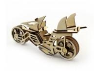 Конструктор деревянный подвижный Lemmo Мотоцикл Фантом
